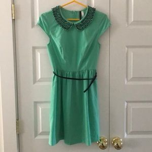 Mint julep mid-thing length Kensie dress